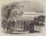Burial of One of the New York Firemen Zouaves on the Banks of the Potomac, Virginia