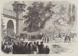 Funeral of the late Sultan Abdul-Medjid at Constantinople