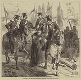 Capture of an Envoy from Marshal Bazaine, near Metz