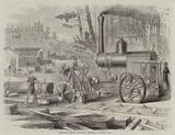 Portable Steam Circular Sawmill