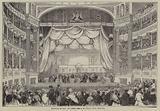 Drawing of the Art Union Prizes, Drury Lane Theatre, London