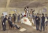 A Slave Auction in Virginia