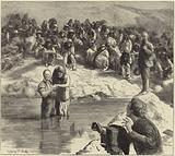 A baptism of North American Indians