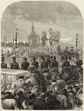 Funeral of the Emperor of Russia