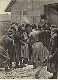 The famine in Russia