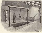 The gallows at Newgate Prison