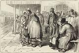 Departure of Irish emigrants