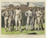 Cricket - Group of Crack Gentleman Players
