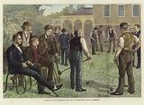 Croquet at the convalescent home of St Bartholomew's Hospital, Highgate