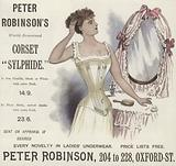 Peter Robinson's World-Renowned Corset 'Sylphide'