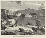 Italy - Lake Maggiore, with the 'Isola Bella' and 'Isola dei Pescatori'