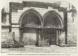 Lower Arcade of the Church of the Holy Sepulchre