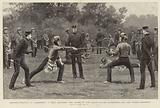 Bayonet-fighting at Aldershot