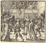Durer's Masquerade Dance with Torches