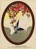 Roses et Oiseau, Roses and Bird