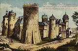 Castle built by Philip Augustus of France and tower where Joan of Arc was imprisoned in 1431 before her execution, Rouen, France