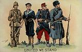 WW1 Allied soldiers and sailor