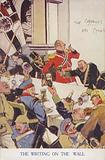 The Kaiser and German army drunk at a party