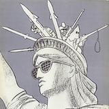 Liberty – American Style, Soviet propaganda image, 1970s