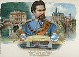 Ludwig II, King of Bavaria, and his favourite castles