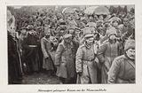 Russian prisoners of war captured by the Germans at the Second Battle of the Masurian Lakes, World War I, 1915