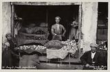 Shop selling fresh vegetables, Baghdad, Iraq