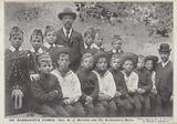 Reverend W J Mayers and a group of Barnardo's Boys