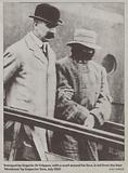 The arrest of Dr Crippen, July 1910