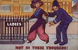 Not in these Trousers!