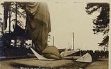 Wreck of the British Army airship Morning Post, Farnborough, Hampshire, 4 May 1911