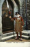 Yeoman of the Guard, the Tower of London