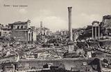 Postcard depicting the Roman Forum in Rome