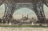 Postcard depicting Le Trocadero