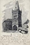 Postcard depicting the Powder Tower