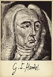 Portrait of George Friedrich Handel