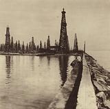 Bibi-Heybat oilfield in Azerbaijan, USSR, 1931