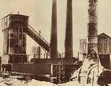 Coking tower and a tower conveyor, USSR, 1931
