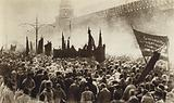 Lenin's funeral, Red Square, Moscow, 1924