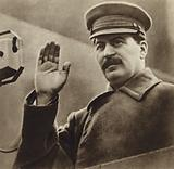 Soviet leader Joseph Stalin at the Physical Culture Parade, Moscow, 1932