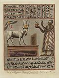 Part of an Egyptian Manuscript found in the Swathing of a Mummy