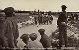 """""""The Glorious First of July, 1916"""" - our first prisoners, Battle of the Somme, France, World War I"""