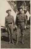 Two ANZAC soldiers, World War I