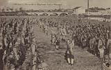 Review of the 21st Czechoslovak Regiment, Cognac, France, World War I, 1918