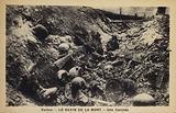 A trench, Ravine of Death, Verdun, France, World War I