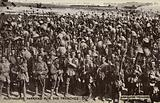 Australians parading for the trenches, World War I