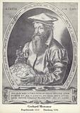 Gerardus Mercator (1512-1594), Flemish cartographer and mathematician