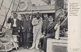 Swedish mission to rescue the shipwrecked members of Otto Nordenskjold's Antarctic expedition, c1904