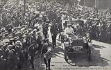 Celebration of the 70th birthday of Joseph Chamberlain, Birmingham, 1906