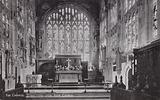 The Chancel, Holy Trinity Church, Stratford upon Avon