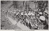 Val Cartier-Infantry off to Parade 1915